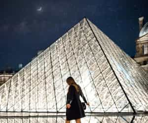 fashion, look, and louvre image