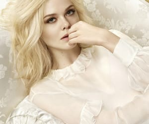 editorial, model, and Elle Fanning image