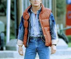 Back to the Future and marty mcfly image