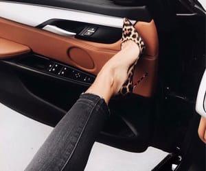 fashion, car, and heels image