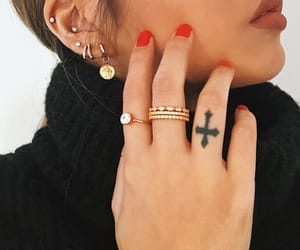 accessoires, earring, and fashion image