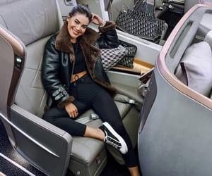 airplane, fashion, and outfit image