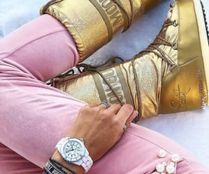 chanel, gold, and jewels image