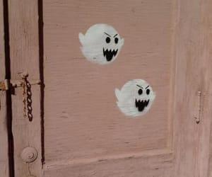 ghost, door, and mario image