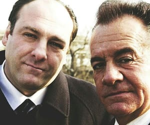 the sopranos, anthony soprano, and paulie walnuts image