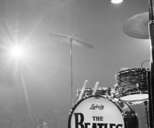 the beatles, music, and drums image