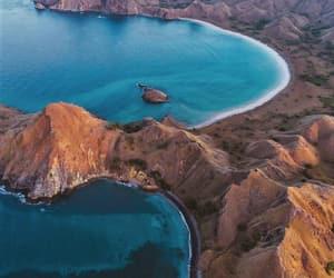 beach, desert, and Island image