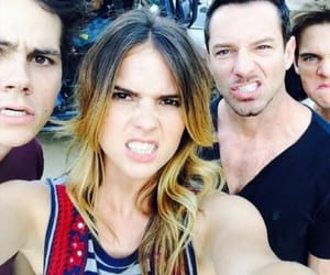 malia, stiles, and ian bohen image