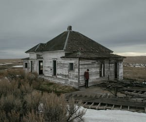 abandoned, house, and loneliness image