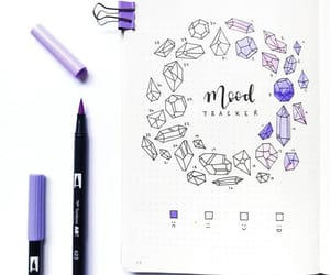 organization, planner, and bujo image