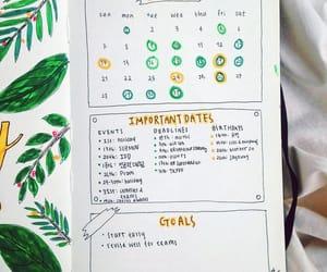 bujo, bullet journal, and organization image