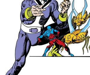 atom, comics, and dc comics image
