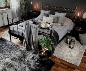 bed, goals, and bedroom image