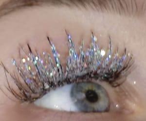 eye, aesthetic, and eyelashes image