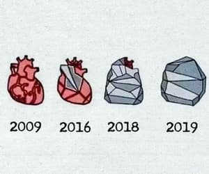 heart, stone, and 2019 image
