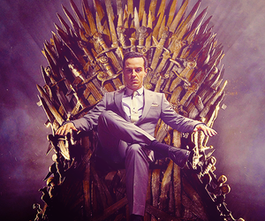 game of thrones and jim moriarty image