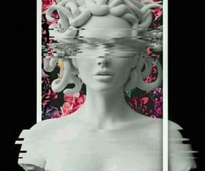 wallpaper, aesthetic, and medusa image
