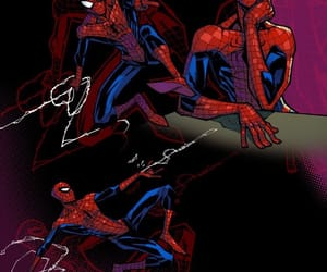 fan art, spiderman, and spiderverse image