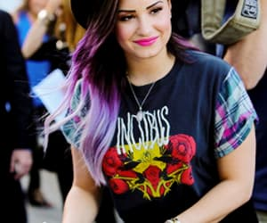 demi lovato, hair, and demi image