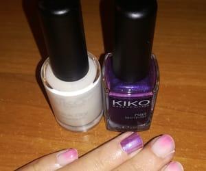 nail art, kiko, and nail polish image