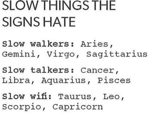 hate and zodiac signs image