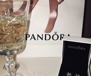 champagne, earring, and silver image