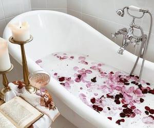 aesthetics, alternative, and bathtub image