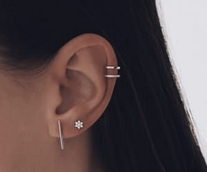 piercing, accessories, and earrings image