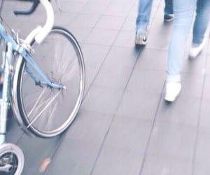 blue, indie, and bike image