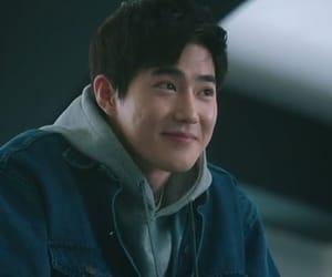 exo, kim junmyeon, and cute image
