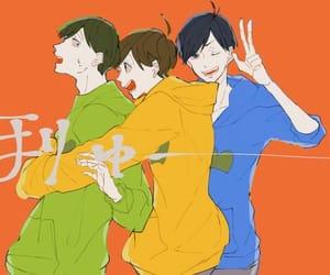karamatsu, choromatsu, and jyushimatsu image