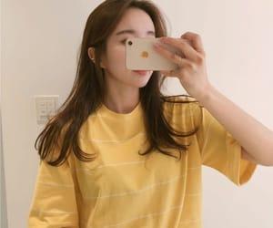 aesthetic, girl, and lemon image