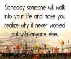 quote, someone, and relationships image