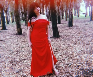 Dream, dress, and red image