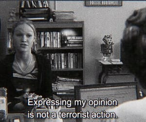 10 things i hate about you, b&w, and mood image