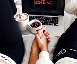 couple, love, and netflix image