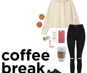 chill, clothes, and coffee image