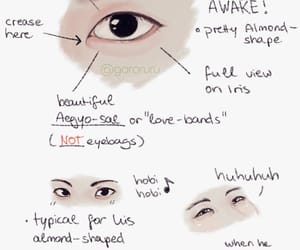 draw, bts, and eyes image