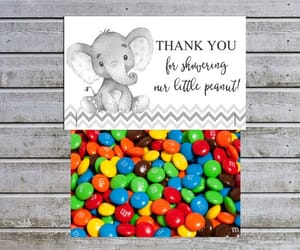 etsy, treat bags, and baby shower ideas image