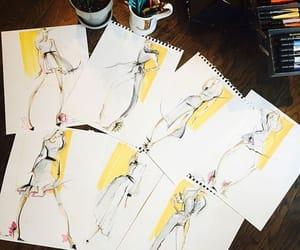 citrus, sketch, and desig image