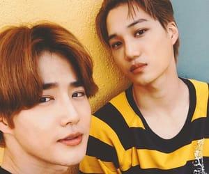 boys, exo, and junmyeon image