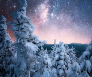 astronomy, landscape, and nature image