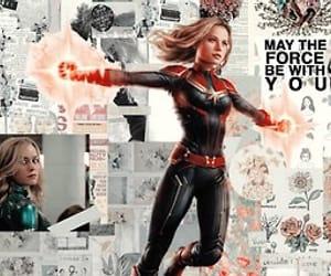 header, captain marvel, and collage header image