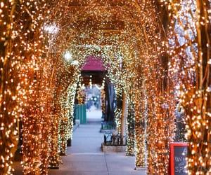 christmas, lights, and usa image