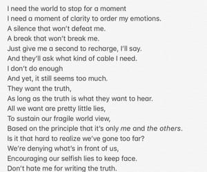 hate, meaningful, and poem image