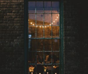 light, window, and vintage image