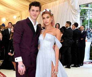 hailey baldwin, shawn mendes, and model image