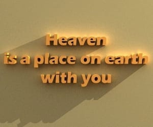 quotes, love, and heaven image