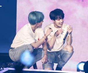 v, jungkook, and kim taehyung image