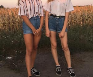 90s, girls, and outfit image